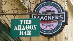 The Aragon Bar Logo